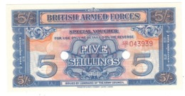 British Armed Forces , 5 Shill. 2nd Series. UNC. - Military Issues