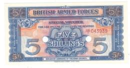 British Armed Forces , 5 Shill. 2nd Series. UNC. - Forze Armate Britanniche & Docuementi Speciali