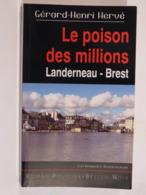 LE POISON DES MILLIONS  Par  GERARD HENRI HERVE Collection  BREIZH NOIR   Policier Breton - Non Classés