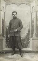 Carte Photo Un Beau Turcos En 1916 RV - Fotografia