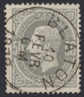 "émission 1869 - N°35 Obl Simple Cercle ""Blaton"". Superbe - 1869-1883 Leopold II."