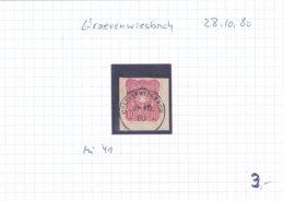 Grävenwiesbach, 10 Pfennig Marke Von 1880 - Usados