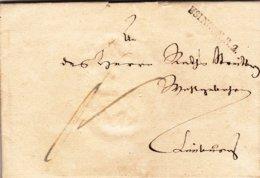 Usingen; Brief Von 1831 - Documents Historiques