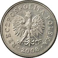 Monnaie, Pologne, 50 Groszy, 2008, Warsaw, TTB, Copper-nickel, KM:281 - Pologne