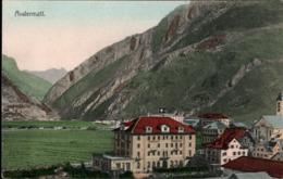 !  Ansichtskarte, Carte Postale, Andermatt, Schweiz - UR Uri