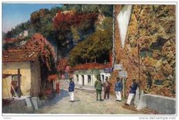 Carte Postale Grimaldi Vintimiglia   Douanes  Frontière Franco-Italienne  Douaniers Trés Beau Plan - Dogana