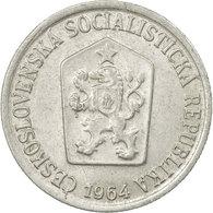 Monnaie, Tchécoslovaquie, 10 Haleru, 1964, TTB, Aluminium, KM:49.1 - Czechoslovakia