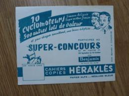BUVARD HERACLES LOT DE 10 BUVARDS - Colecciones & Series