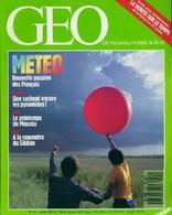 Géo N°101 : Météo De Collectif (1987) - Livres, BD, Revues