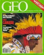 Géo N°107 : Ouest Canada De Collectif (1988) - Livres, BD, Revues