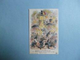"""Le Conflit Européen En 1914  -  """" Les Petits Belges """"   Illustrateur REGAMCY  -  Belgique  -  Liège  -  Drapeau Belge - Guerre 1914-18"""