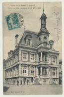AK  Givet Hotel De Ville 1915 - Givet