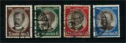 DEUTSCHES REICH 1934 Nr 540-543 Gestempelt (113530) - Deutschland