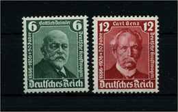 DEUTSCHES REICH 1936 Nr 604-605 Postfrisch (113565) - Deutschland