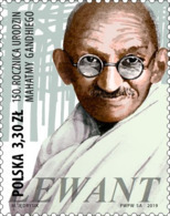 2019.09.30. 150th Anniversary Of The Birth Of Mahatma Gandhi - MNH - 1944-.... Republik