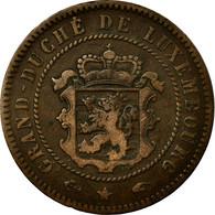 Monnaie, Luxembourg, William III, 5 Centimes, 1855, Paris, TTB, Bronze, KM:22.2 - Luxemburgo