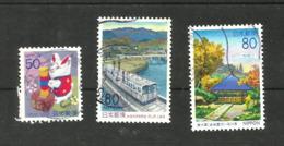 Japon N°2485, 2499, 2546 Cote 3.10 Euros - 1989-... Emperador Akihito (Era Heisei)