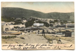 Simonstown, South Africa - Beach, Buildings - 1906 Used Postcard - South Africa