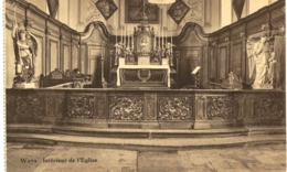 WAYS  Intérieur De L' église. - Genappe