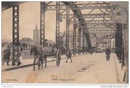 60 - CREIL / LE PONT (BEL ATTELAGE) - Creil