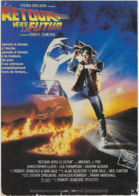 Reproduction Affiche En Carte Postale Retour Vers Le Futur   Steven Spielberg - Manifesti Su Carta