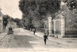 SAINT VALERY SUR SOMME  ( 80 ) - L'entrée Du Casino - Saint Valery Sur Somme