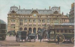 PARIS -  La Gare Saint Lazare - Métro Parisien, Gares