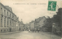 GUEMENE PENFAO - Grande Rue,la Gendarmerie. - Guémené-Penfao