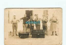 CARTE PHOTO Du 131 éme Régiment D'infanterie - Caserne BLOIS Ou ORLEANS - Cuisine - Cuisinier - Régiments