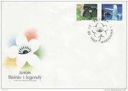 POLAND  1997  EUROPA CEPT  FDC - Europa-CEPT