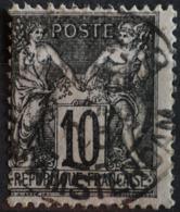 -Sage N°103 (NsB) Type Lll.O.PARIS Rue D'Amsterdam.( Bur 18 ) - 1898-1900 Sage (Type III)