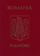 Romania, 2005, Vintage Expired Passport - No Visas & Stamps - Documenti Storici