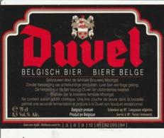 19 ETIKETTEN DUVEL +8 ETIKETTEN MOORTGAT - Beer