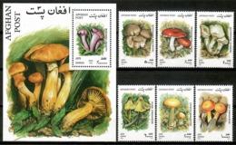 Afghanistan 2001 / Mushrooms MNH Setas Pilzen Champignons / Cu14735  18-32 - Hongos