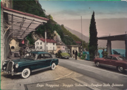PIAGGIO VALMARA. Lago Maggiore. Confine, Dogana. Svizzera. Auto. Macchina. Mercedes. 23a - Novara
