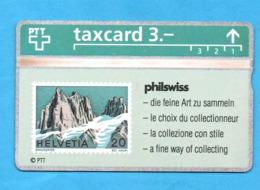 STAMP Landis & Gyr Phonecard - Timbres & Monnaies
