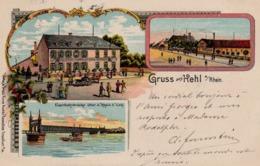 Gruss Aus Kehl 1905 - Kehl