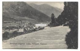Amarnath Pilgrims' Camp Pahlgam, Kashmir - Old India Postcard - India
