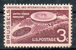 USA. N°638 De 1958. Exposition De Bruxelles. - 1958 – Brussels (Belgium)
