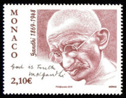Monaco 2019 - 150ème Anniversaire De La Naissance De Gandhi ** - Monaco
