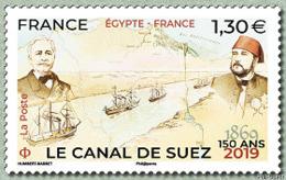 France 2019 - Le Canal De Suez 150 Ans ** (émission Commune France - Egypte) - France