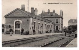 MONTREUIL BELLAY.  La Gare. - Montreuil Bellay