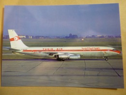 TUNIS AIR  B 707 328  F-BHSP - 1946-....: Ere Moderne