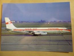 TUNIS AIR  B 707 328  F-BHSP - 1946-....: Era Moderna