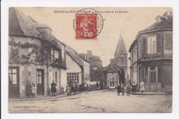 CP 61 BELLOU EN HOULME Arrivée Route De La Ferriere - France
