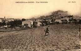 04 - GREOUX LES BAINS - Vue Générale - Gréoux-les-Bains