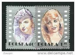 POLAND 1996 MICHEL No: 3584-3585  USED - 1944-.... Republik