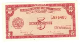 Philippines 5 Cents. P-126. (W&S) UNC. - Philippines