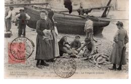 YPORT. Après La Pêche. Le Triage Du Poisson - Yport