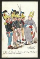 CPA Bobb Satirique Caricature Non Circulé Dessin Original Fait Main Politique Rodez Séparation De L'égise Et De L'état - Satirical